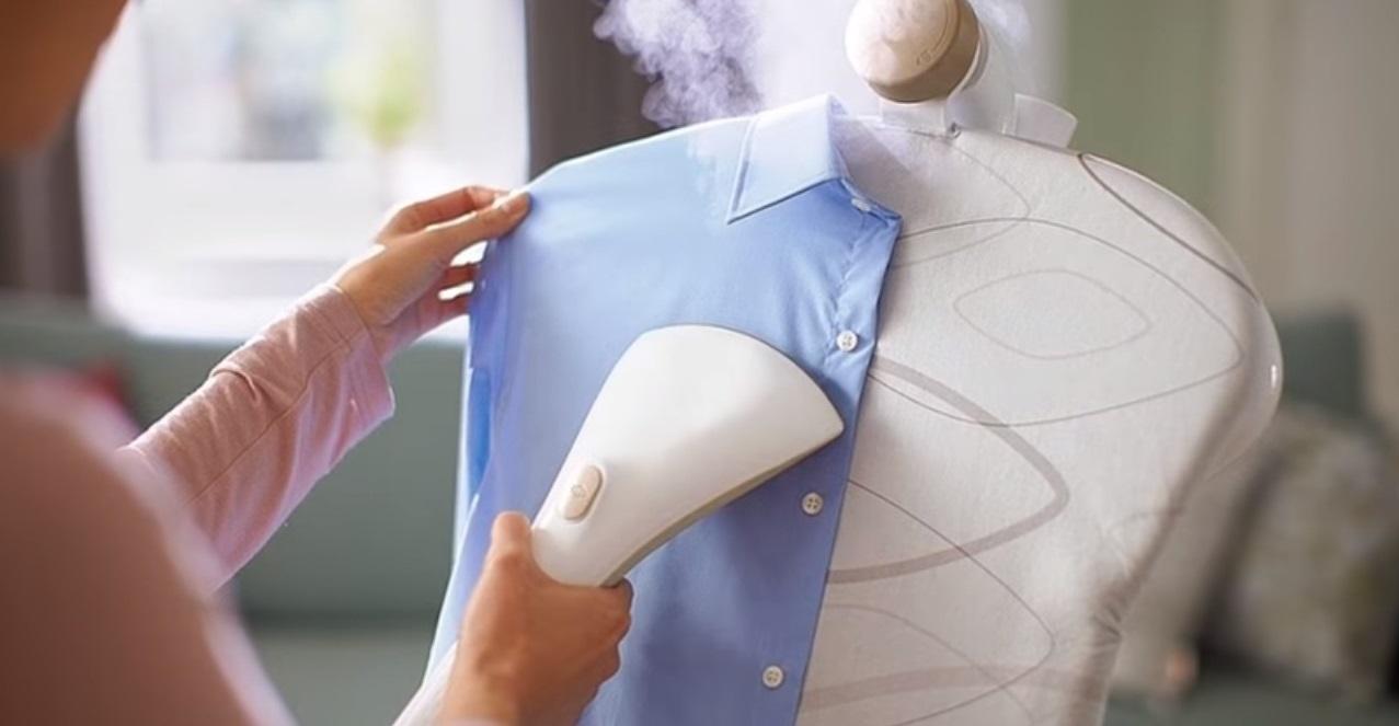 Особенности чистки одежды паром
